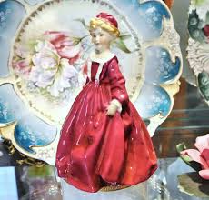 grandmother s bone china royal worcester figurine grandmothers dress