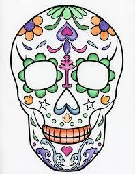 artist bloc sugar skull and bulldog template downloads