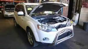 wrecking 2007 mitsubishi outlander 2 4 c16458 youtube