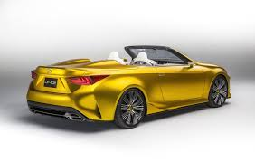 lexus rc convertible price lexus rc convertible could be in the pipeline