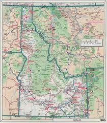 Driving Maps Driving Map Of Idaho Map