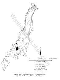 Spokane Zip Code Map Clearlake Information Northwest Fishing Reports