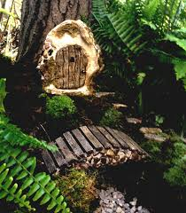 unique wooden bridge above cute gravel fit to mesmerezing fairy