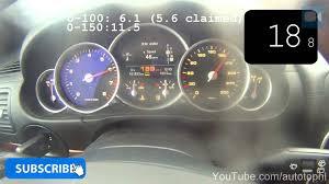 Porsche Cayenne 3 6 - 2004 porsche cayenne turbo 0 202 km h great acceleration test