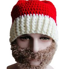 knitting warm ear santa hat knit winter christmas hats without