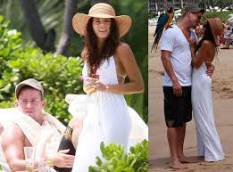 channing tatum and jenna dewan married in malibu honeymoon in