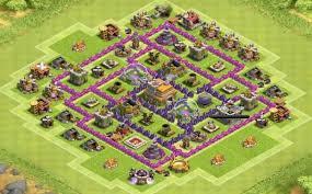 layout design th7 town hall 7 bases wannabewarriorz