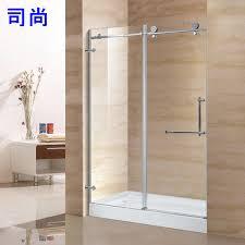 Bathroom Shower Glass Door Price Bathroom Partition Glass Ckcart