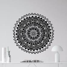 Wall Decals Vinyl Sticker Mandala by Online Get Cheap Lotus Wall Decal Vinyl Aliexpress Com Alibaba