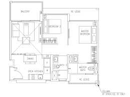 floorplan visionaire ec floor plan layout project brochure 2 bedroom