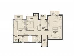 Breeze House Floor Plan Umang Monsoon Breeze 2 Apartments Dwarka Expressway