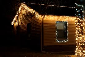 Christmas Lights On House by House With Icicle Lights Picture Free Photograph Photos Public