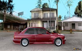 Bmw M3 1991 - bmw m3 e30 1991 for gta san andreas