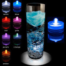submersible led tea lights submersible battery operated tea lights tea light candles