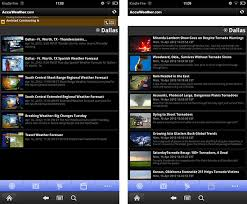 accuweather android app accuweather for android weather app for kindle android