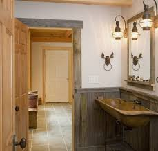 bathroom lights ideas rustic bathroom lighting ideas home interiors
