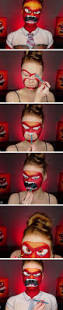 Diy Halloween Makeup Effects by