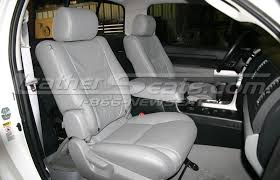 toyota leather seats toyota tundra leather interiors