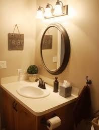 Bronze Bathroom Mirror Oval Bathroom Mirror Lighting Bathroom Decor Pinterest Oval