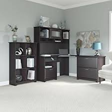L Shaped Office Desks With Hutch Bush Furniture Cabot L Shaped Desk With Hutch And