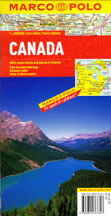 Map Canada by Marco Polo Map Canada Marco Polo Search By Publisher