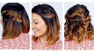 hairstyles youtube 24 lovely new hairstyles for short hair 3 easy short hair