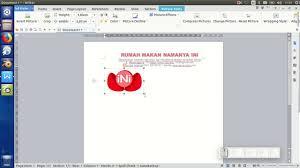 cara membuat kop surat dan logo 5 cara membuat kop surat dan settingannya youtube