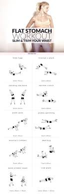 easy workout plans at home flat stomach workout slim and trim your waist