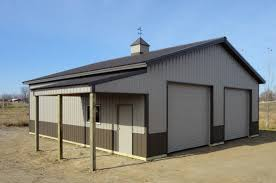 barn style garage plans burnished slate with small eave lean to pictures building