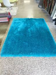 Blue Shaggy Rug Amazon Com Admirable Turquoise Shaggy Viscose Solid Pattern Area