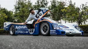 rothmans porsche 962 deze porsche 962 le mans racer is een daily driver topgear nederland
