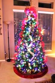 slim christmas tree with led colored lights christmas tree with colored lights slim christmas tree with color