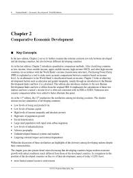 ch 2 economic development 12th edition by todaro developing