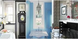 Pictures Of Black And White Bathrooms Ideas Powder Room Decorating Ideas Powder Room Design And Pictures