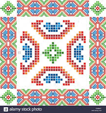 traditional mexican ornament stock vector illustration vector