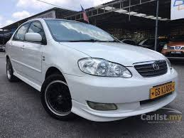 toyota corolla 2005 toyota corolla altis 2005 e 1 6 in selangor automatic sedan white