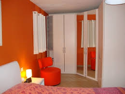 chambre orange et marron chambre orange et