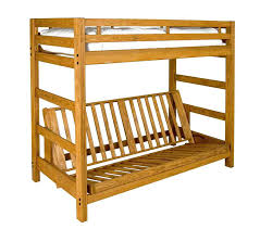 Wood Futon Bunk Bed Bunk Beds With Futon On Bottom Bunk Bed With Futon Bottom