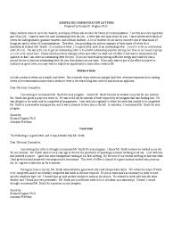 recommendation letter templates 8 free templates in pdf word