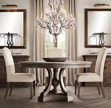 restoration hardware dining room tables round trestle at teamnacl