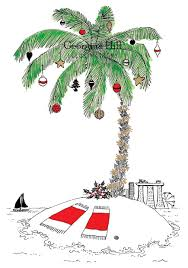 christmas clipart palm trees collection