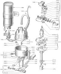 ford distributor parts diagram ford 800 tractor parts diagrams