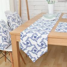 blue and white table runner elegant chinese style blue and white porcelain table runners runner
