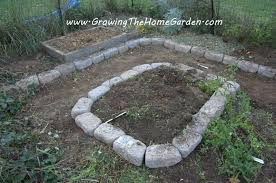Raised Bed Vegetable Garden Design by Raised Bed Vegetable Garden With Stone Borders Growing The Home