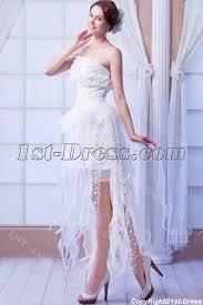 best romantic style wedding dresses with high low 1st dress com