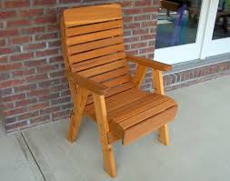 High Back Patio Chairs by Red Cedar Royal Highback Patio Chair