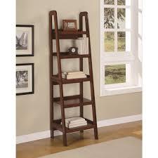 ameriwood home platform mahogany ladder bookcase walmart