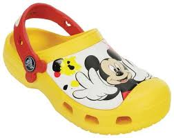 cuisine à crocs crocs creative mickey paint splatter one clogs chaussures enfant