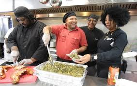 homeless shelter s thanksgiving dinner provided by 4 black owned