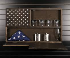 How To Display American Flag On Wall American Made Wooden Signs